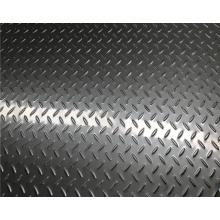 Hojas a cuadros en relieve de acero inoxidable 304