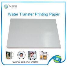 Vente en gros de papier de transfert du toboggan eau jet d'encre