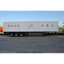 Alta calidad Cimc / Lufeng Cargo Van semi remolque en venta