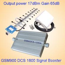 Repetidor GSM barato del repetidor de la banda dual 900 Repetidor / amplificador / amplificador de la señal 1800