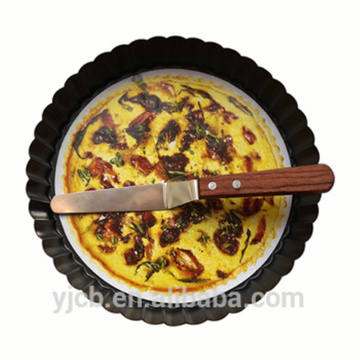 Pizza Torte Pie Flower Pan mit Spachtel