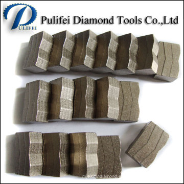 Good Fomula Hot Press Granite Cutting Teeth Segmento de piedra