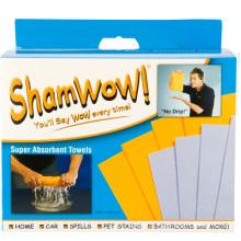 Magic Cloth Shamwow Set of 8PCS with Viscose/Polyester