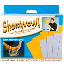 Magic Shamwow pano conjunto de 8pcs com viscose / poliéster