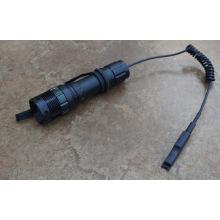 180 Lumens Dimmer Zoom Pressure Switch Hunting Flashlight