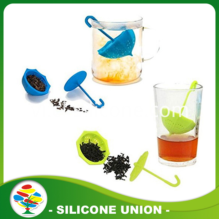 Umbrella-Shape-Silicone-Tea-Infuser
