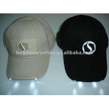 Casquettes de baseball avec lumières led / multi-chapeaux / casquettes EL