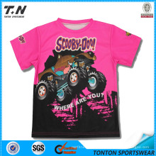 Wholesale Dry-Fit Full Sublimation Kids Tshirts