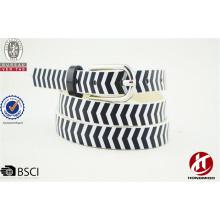 Fantaisie cadeau zèbre imprimé ceinture ceintures italie