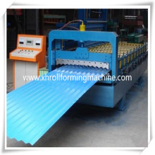 PLC Touch Control Corrugated Metal Sheet Cold Forming Machine