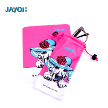 100% Polyester 230gsm Microfiber Eyeglass Pouch
