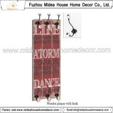 China Fabrik Custome Metall Mantel Haken