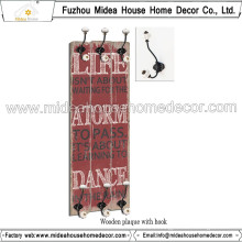 China Factory Custome Metal Coat Hooks