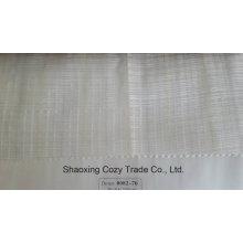Новый популярный проект полоса кросс органзы Voile Sheer занавес ткани 008270