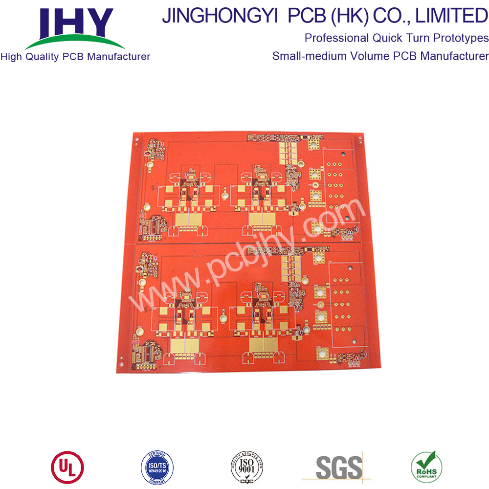 "ENIG 3u"" Orange 4L Rigid PCB"