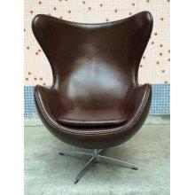 Кофе цвет кожаное кресло, уникальную мебель стул (XT02)