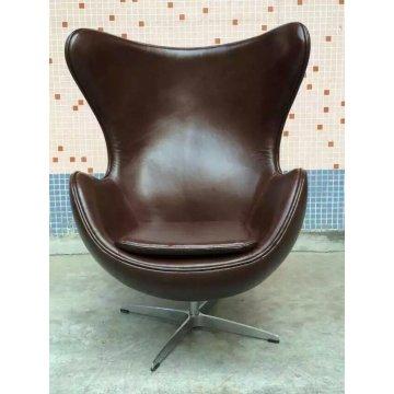 Silla de cuero Color café, silla de los muebles únicos (XT02)