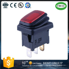 Miniatura Interruptor de Balancim Mini Interruptores Iluminado Interruptor de Balancim