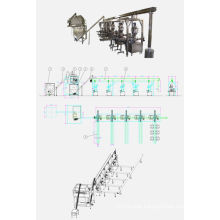 Automayic mixing & Packing line