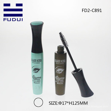 2015 year new design plastic cosmetic mascara bottle