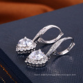 Valentine days gift love heart jewelry earring alibaba charming earring