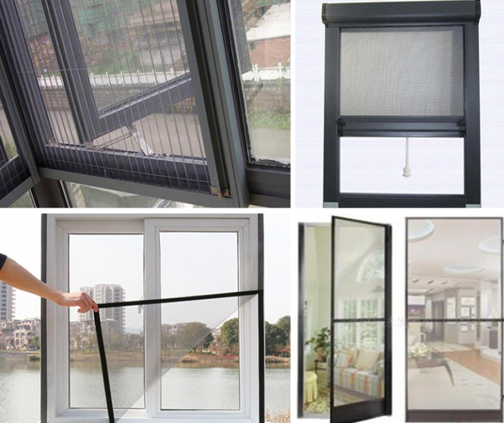 fiberglass window screen usage