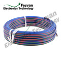 PVC Insulated Colored Flat Ribbon Wire