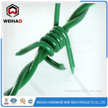 High tensile PVC barbed wire