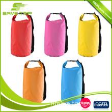 Hot Sale 20L 30L 40L Ultralight PVC Waterproof Outdoor Camping Swimming Drifting Diving Rafting shoulder Dry bag Travel Kits