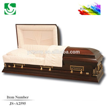 wholesale solid wood assembled casket