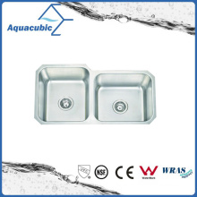 El acero inoxidable moduló el fregadero inoxidable del fregadero de cocina (ACS8445M)