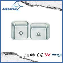 Pia de aço inoxidável de pia de cozinha de aço inoxidável (ACS8445M)