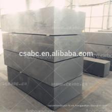 bloque de grafito de alta densidad