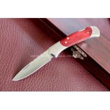 Wood Handle Folding Knife (SE-0509)