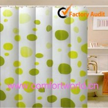 100% polyester in chống thấm nước vòi sen rèm