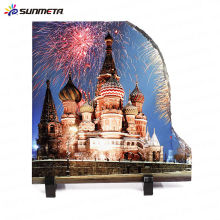 Sublimation rock slate foto heat press stone -factory diretamente
