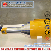 Cilindro hidráulico de múltiples etapas para puente de alta presión