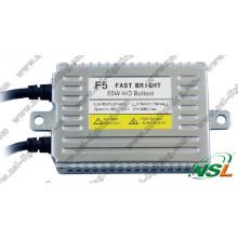 Fast Bright 55W Quick Start HID Xenon Kit, Farol Ballast F3 F5 F7 35W 55W 70W