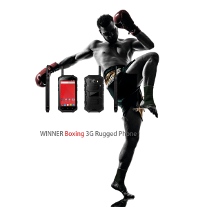Telefone Rugging 3G Boxe