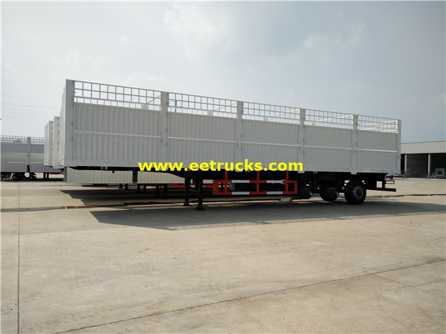 Bulk Cargo Transport Truck Trailers