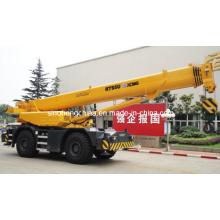 Competitive 55t Rough Terrain Crane, Hoisting Crane, Earth Moving Machinery Rt55u