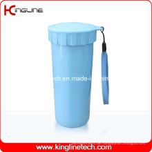 400ml Plastik-Doppelschicht-Cup-Deckel (KL-5017)
