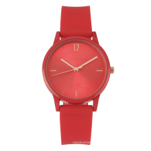 Hot Sale sunray dial silicon strap promotion watch