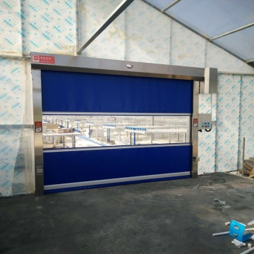 Hong fa Doors with PVC Curtain