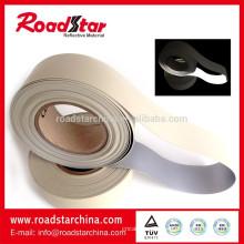 0.6mm reflexiva do PVC da espuma couro artificial