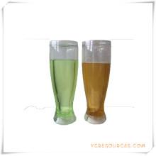 Tasse de bière glacée à double paroi Tasse de bière glacée à glace pour cadeaux promotionnels (HA09078-5)