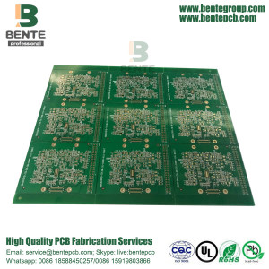 1oz Low Cost PCB ENIG 3u