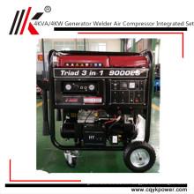 Generador de la soldadura del compresor de la gasolina, generador del soldador de la gasolina toda la bobina de cobre