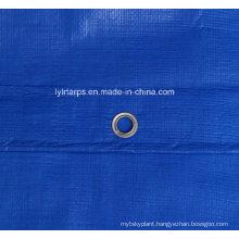Heave Duty Blue Plastic Tarpaulin Sheet, Poly Tarp Cover