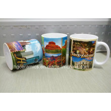Tasse de sublimation, tasse en céramique revêtue de sublimation de 11 oz